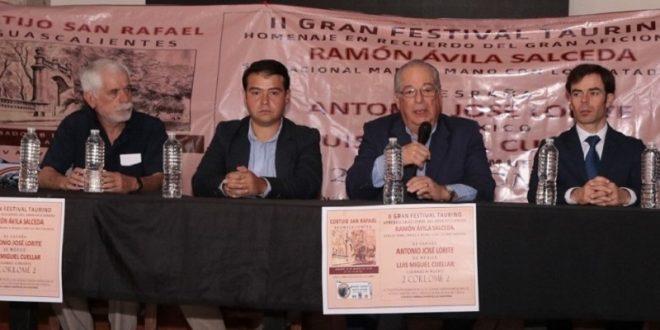 """El Centro Taurino """"México España"""" anuncia su II gran festival y tentadero"""