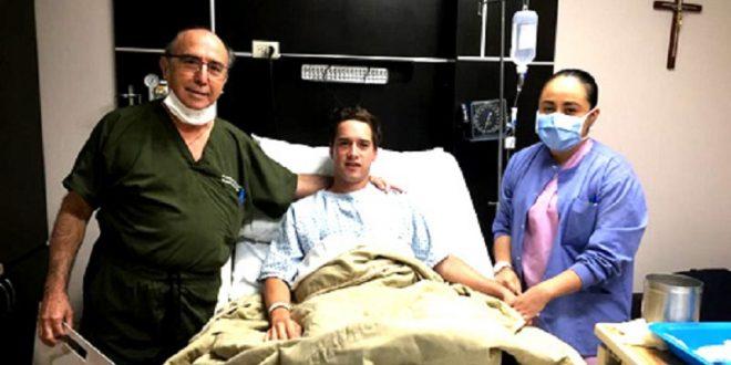 Operan del tobillo al rejoneador Sebastián Leal; saldrá hoy mismo del hospital
