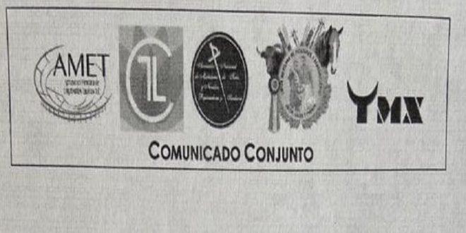 INSTAN agrupaciones taurinas a seguir protocolo ante pandemia
