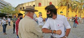 Marcha pro tauromaquia en Jerez de la Frontera