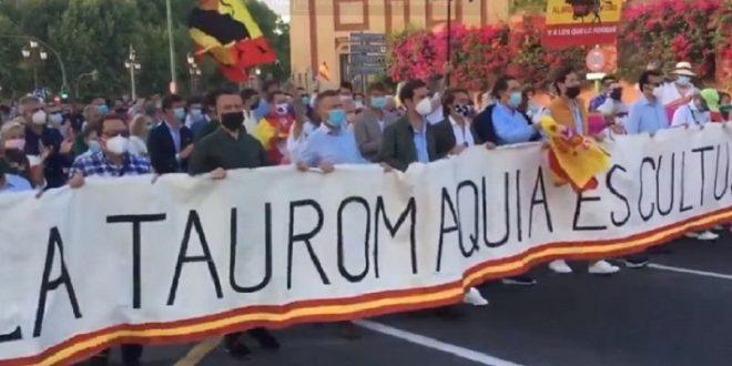 En España dan la pauta para defender el derecho a la tauromaquia