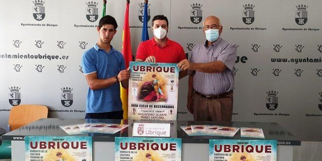 Presentan cartel para novillada en la española Ubrique, el día 11