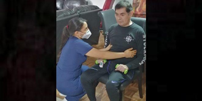 BERNARDO RENTERÍA se somete a rehabilitación diaria… ¡Y QUIERE DESPEDIRSE DE LUCES! (*Fotos*)