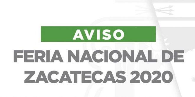 ¡Suspenden la Feria de Zacatecas!