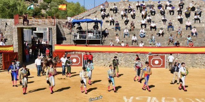 EL TOREO tiene FUTURO; exitosa semifinal del Certamen de Novilladas de Escuelas Andaluzas (*Fotos*)