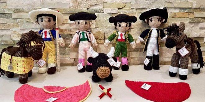 Toritos de estambre, calidad de exportación ciento por ciento mexicanos (*Fotos*)