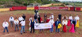 Celebra el Taller Taurino de la CDMX, de Salvador López, y sigue protocolos (*Video*)