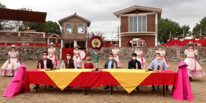 PRESENTAN FESTIVAL DE TRADICIONES Y GASTRONOMIA TLAXCALTECA EN XALTOCAN