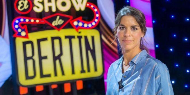 Lea Vicens, entrevistadora en programa de TV de Bertín Osborne
