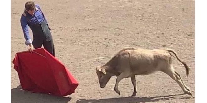 SALDÍVAR, de tienta en La Joya con encaste Parladé