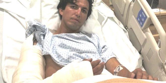 Sufre CAMPERO terrible fractura en el brazo derecho; le colocarán placas y tornillos (*Fotos*)