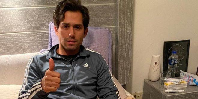 Descartan daños graves a Juan Fernando, tras percance