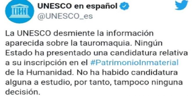 Desmiente Unesco a antis