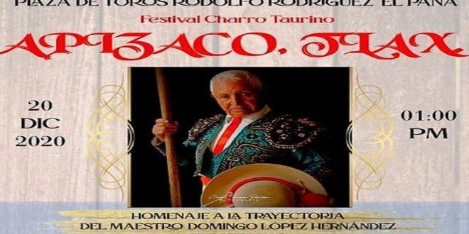 """Homenaje a Domingo López """"Zotoluco"""""""