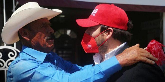 Manuel Azcona, empresario taurino, candidato por la coalición 'Sí por San Luis'