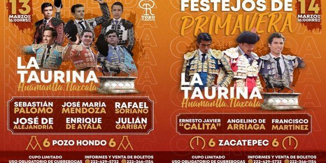 En Huamantla, festejos de Primavera los días 13 y 14