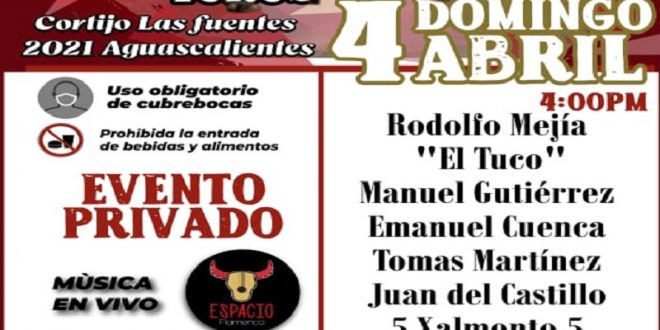 """Para el 4 de abril, novillada de triunfadores en """"Las Fuentes"""""""