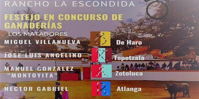 """Anuncian festival taurino en """"La Escondida"""""""