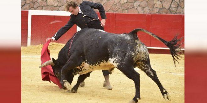 Román torea en Cinco Villas; esta listo para actuar el domingo