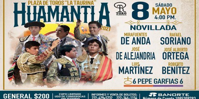 Conozca el encierro de Pepe Garfias para el sábado en Huamantla (*Fotos*)