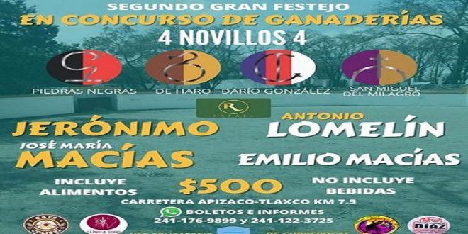 II Festival de Concurso de Ganaderías, en el Rancho La Escondida