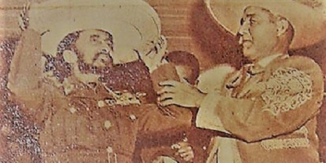 El emperador de Etiopía en una novillada, hace 67 años