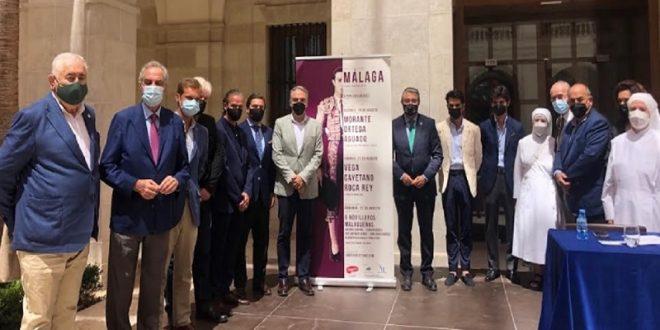 Presenta Garzón feria de Málaga