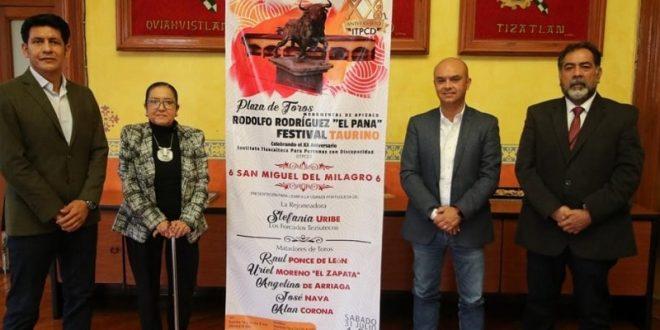 Presentan festival por el XX aniversario del Instituto Tlaxcalteca para Personas con Discapacidad