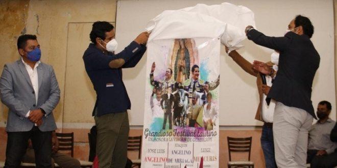 Presentan festival Guadalupano