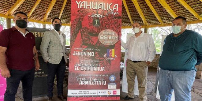 """Para reactivar Yahualica… Jerónimo, """"El Chihuahua"""" y """"Armillita IV"""""""