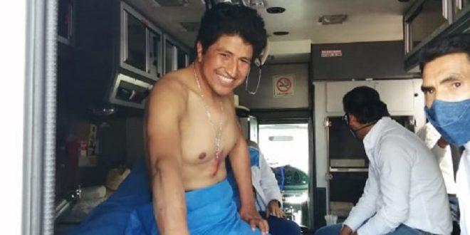 Oreja y fractura de esternón a Conrado en Texcoco; vueltas de Silis y López (*Fotos*)