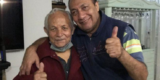 El apoderado David Medina, de luto por su padre
