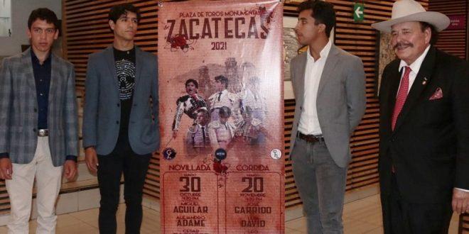 Viene una novillada y dos corridas en Zacatecas